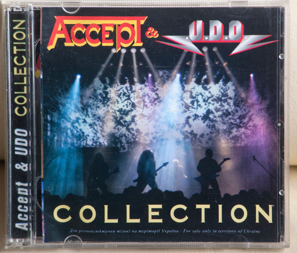 Accept and U.D.O. - Collection (2cd, 2003)