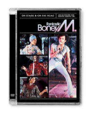 BONEY M - ON STAGE (DVD)