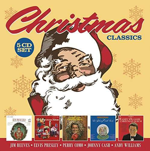 Christmas Classics - 5CD: Reeves,Presley, Como, Cash, Williams 