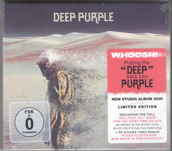 Deep Purple - Whoosh! (CD+DVD Mediabook) (2020) (Import, EU)