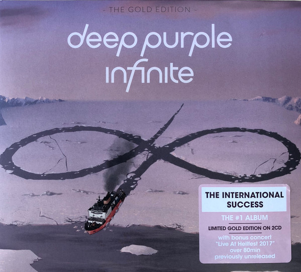 Deep Purple - inFinite (Gold Edition) (2CD) (Import, EU)