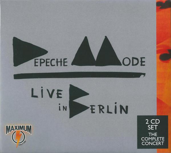 Depeche Mode - Live In Berlin (2014, Import)