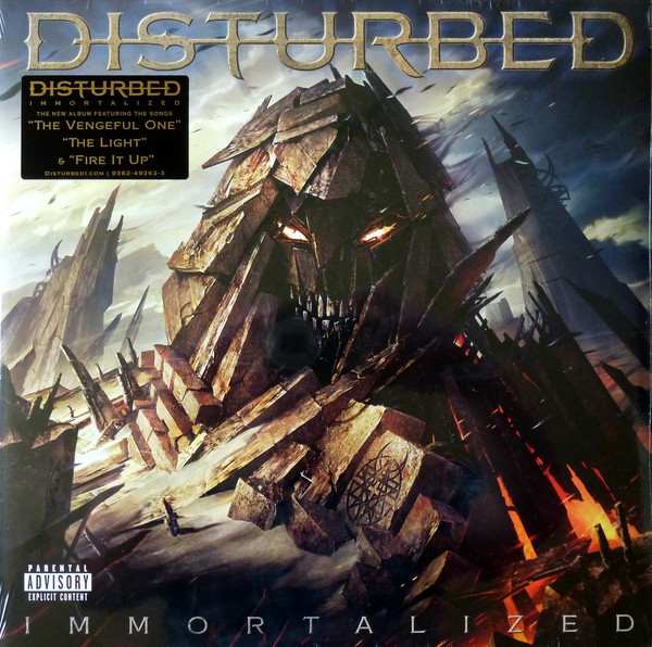 Disturbed - Immortalized (Vinyl, LP)