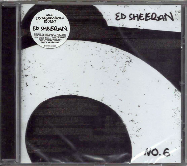 Ed Sheeran - No.6 Collaborations Project (2019) (Import, EU)
