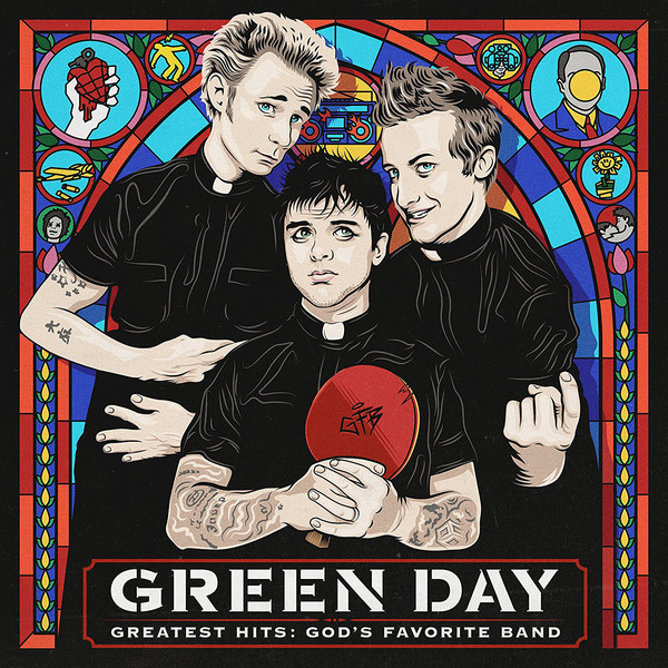 Green Day - Greatest Hits. God's Favorite Band (2017) (Import, E