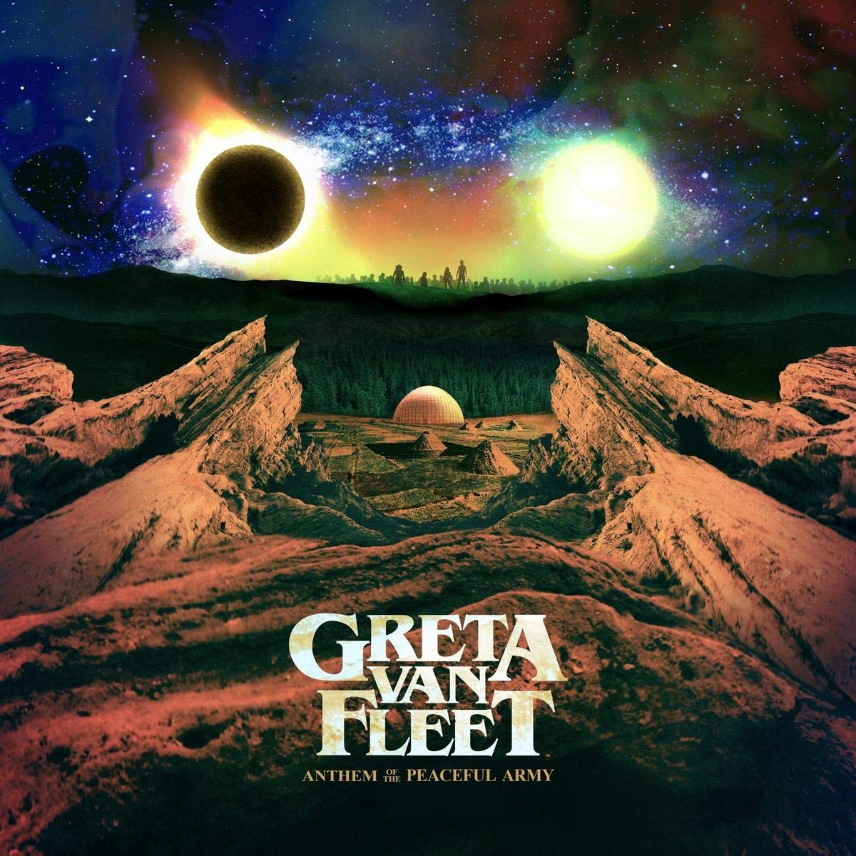 Greta Van Fleet - Anthem Of The Peaceful Army (2018) (Import, EU