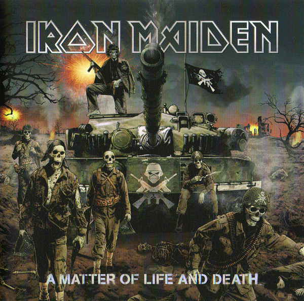 Iron Maiden - A Matter Of Life And Death (1996) (EU)