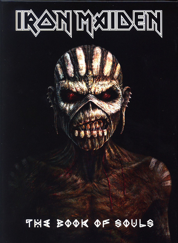 Iron Maiden - The Book Of Souls (2 cd, deluxe, Limited Edition)