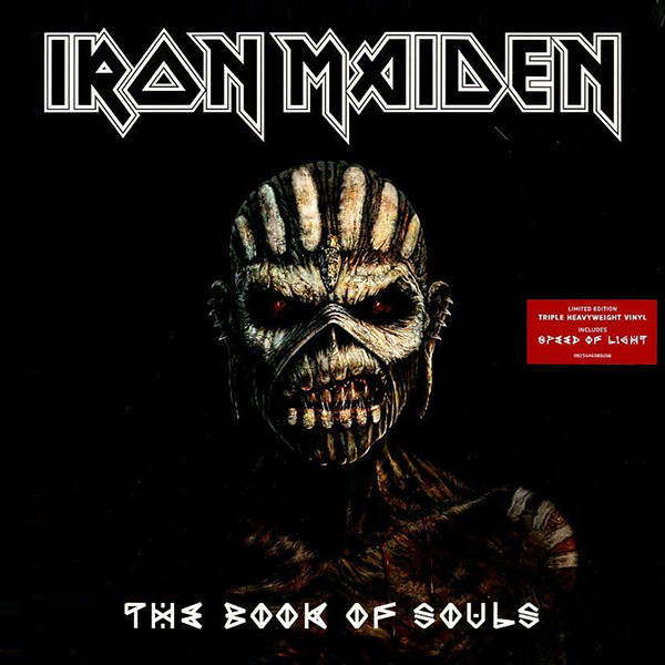 Iron Maiden - The Book Of Souls (3xVinyl, Limited Edition, LP)