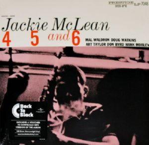 Jackie Mclean - 4, 5 And 6 (LP)