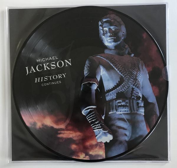 Michael Jackson - HIStory Continues (2×Vinyl, LP, Picture)