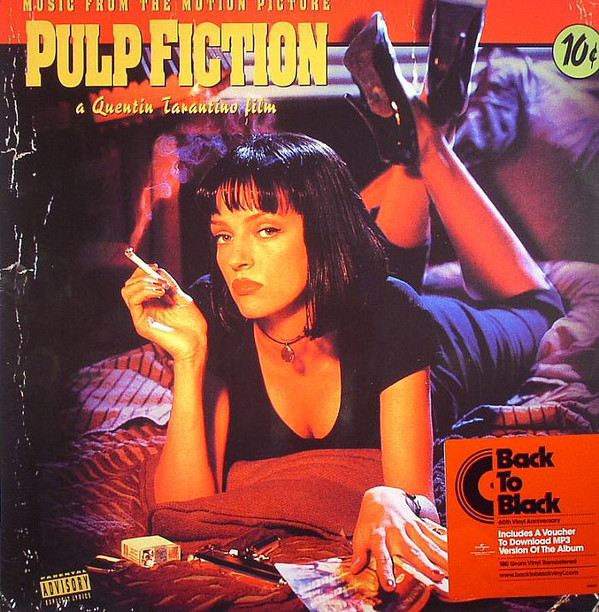 Pulp Fiction - Music From The Motion Picture (Vinyl, LP)