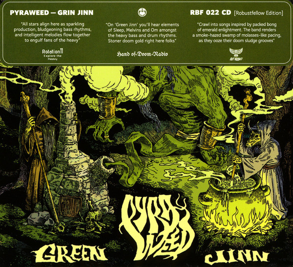 Pyraweed - Green Jinn (2018)