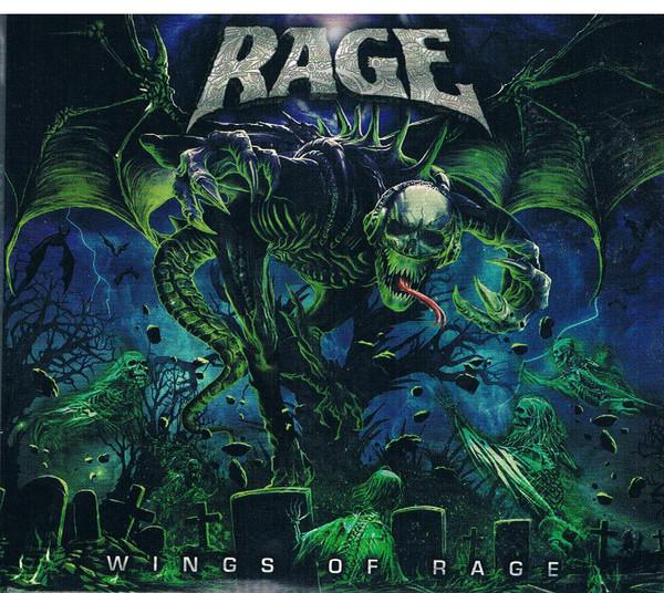 Rage - Wings Of Rage (2020) (digipak)