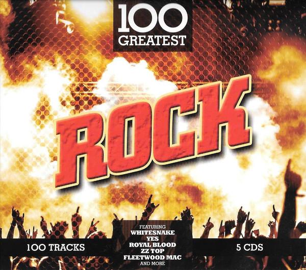 Сборник - 100 Greatest Rock (5 CD) (Import)
