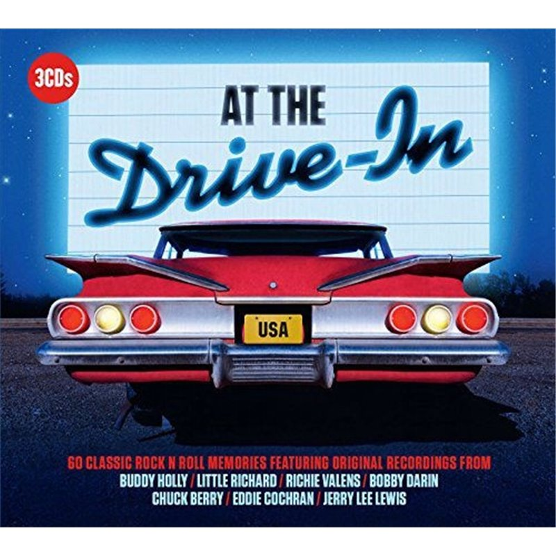 Сборник - At the Drive in. 60 rok'n'roll hits (3cd) (Import, EU)