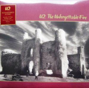 U2 - The Unforgettable Fire (LP)