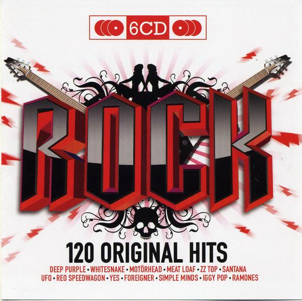 Various (Сборник) - 120 Original Hits. Rock (6 CD) (Import)